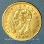 Monnaies Italie. Victor Emmanuel II (1861-1878). 5 lires 1863T BN. Turin. (PTL 900‰. 1,61 g)