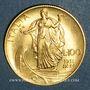 Monnaies Italie. Victor Emmanuel III (1900-1946). 100 lires 1931, an IX. (PTL 900‰. 8,799 g)