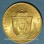 Monnaies Liechtenstein. François Joseph II, prince (1938-1990). 25 franken 1956. (PTL 900‰. 5,65 g)