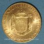 Monnaies Liechtenstein. François Joseph II, prince (1938-1990). 25 franken 1961. (PTL 900‰. 5,65 g)
