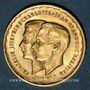 Monnaies Luxembourg. Charlotte (1919-1964). Module de 20 francs 1953. Mariage de Joséphine Charlotte / Jean