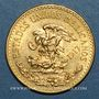 Monnaies Mexique. 20 pesos 1917. (PTL 900‰. 16,67 g)