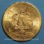 Monnaies Mexique. 50 pesos 1943 (PTL 900‰. 41,67 g)