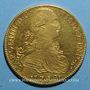 Monnaies Mexique. Charles IV (1788-1808). 8 escudos 1792FM. Mexico