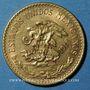 Monnaies Mexique. République. 20 pesos 1918. (PTL 900‰. 16,67 g)