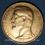 Monnaies Monaco. Albert I (1899-1922). 100 francs 1896A. 900 /1000. 32,258 gr