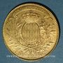 Monnaies Monaco. Albert I (1899-1922). 100 francs 1901A. (PTL 900‰. 32,25 g)