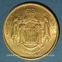 Monnaies Monaco. Charles III (1856-1889). 100 francs 1884A. (PTL 900‰. 32,258 g)