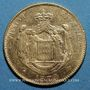 Monnaies Monaco. Charles III (1856-1889). 20 francs 1879A. Ancre barrée. (PTL 900‰. 6,45 g)