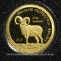 Monnaies Mongolie. République. 500 tugrik 2013 (PTL 999‰. 0,5 g)