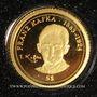 Monnaies Nauru. République. 5 dollars 2008 (PTL 999‰. 0,5 g)