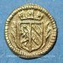Monnaies Nuremberg. 1/32 ducat n. d. (1700)