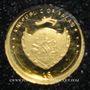 Monnaies Palau. République. 1 dollar 2009 (PTL 999‰. 0,5 g)