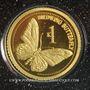 Monnaies Papouasie-Nouvelle-Guinée. Elisabeth II (1952 - /). 1 kina 2011. (PTL 999‰. 0,5 g)