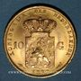 Monnaies Pays-Bas. Guillaume III (1849-1890). 10 florins 1889. (PTL 900‰. 6,72 g)