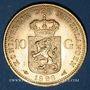 Monnaies Pays Bas. Wilhelmine (1890-1948). 10 florins 1898. (PTL 900‰. 6,72 g)