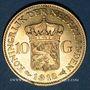 Monnaies Pays Bas. Wilhelmine (1890-1948). 10 florins 1912. (PTL 900‰. 6,72 g)