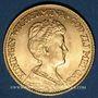 Monnaies Pays Bas. Wilhelmine (1890-1948). 10 florins 1917. (PTL 900‰. 6,72 g)