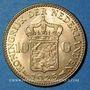 Monnaies Pays Bas. Wilhelmine (1890-1948). 10 florins 1925. (PTL 900‰. 6,72 g)