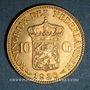 Monnaies Pays Bas. Wilhelmine (1890-1948). 10 florins 1926. (PTL 900‰. 6,72 g)
