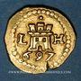 Monnaies Pérou. Charles II (1665-1700). 1 escudo (1)697/6 LH. Lima