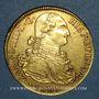 Monnaies Pérou. Charles IV (1788-1808). 8 escudos. 1807 JP. Lima (PTL 875/1000. 27,07 g.)