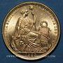 Monnaies Perou. République. 50 soles 1959. (PTL 900‰. 23,4056 g)
