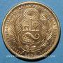 Monnaies Perou. République. 50 soles 1965. (PTL 900‰. 23,4056 g)