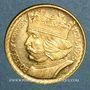 Monnaies Pologne. République. 20 zlotych 1925 (PTL 900‰. 6,45 g)