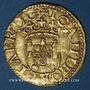 Monnaies Portugal. Jean (1521-1557), cruzado calvario, 2e type, Lisbonne