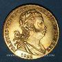 Monnaies Portugal. Jean VI 1816-1826). 1/2 peça 1822 Perou. République. 1 libra 1964. (PTL 917‰. 7,50 g)