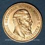 Monnaies Prusse. Frédéric III (1888). 10 mark 1888 A. (PTL 900‰. 3,98 g)