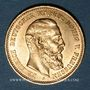 Monnaies Prusse. Frédéric III (1888). 10 mark 1888A. (PTL 900/1000. 3,98 g)
