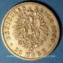 Monnaies Prusse. Frédéric III (1888). 20 mark 1888 A. (PTL 900‰. 7,96 g)