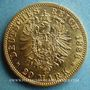 Monnaies Prusse. Frédéric III (1888). 20 mark 1888A. (PTL 900/1000. 7,96 g)