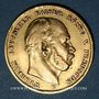 Monnaies Prusse. Guillaume I (1861-1888). 10 mark 1872B. (PTL 900/1000. 3,98 g)