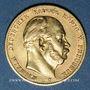 Monnaies Prusse. Guillaume I (1861-1888). 10 mark 1872C. (PTL 900/1000. 3,98 g)