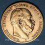 Monnaies Prusse. Guillaume I (1861-1888). 10 mark 1873 C. (PTL 900‰. 3,98 g)