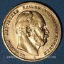 Monnaies Prusse. Guillaume I (1861-1888). 10 mark 1875A. (PTL 900/1000. 3,98 g)