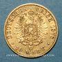 Monnaies Prusse. Guillaume I (1861-1888). 10 mark 1878 C. (PTL 900‰. 3,98 g)