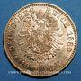Monnaies Prusse. Guillaume I (1861-1888). 10 mark 1880 A. (PTL 900‰. 3,98 g)