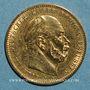 Monnaies Prusse. Guillaume I (1861-1888). 10 mark 1880A. (PTL 900/1000. 3,98 g)