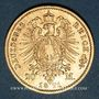 Monnaies Prusse. Guillaume I (1861-1888). 20 mark 1871A. (PTL 900/1000. 7,96 g)
