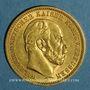 Monnaies Prusse. Guillaume I (1861-1888). 20 mark 1872 C. (PTL 900‰. 7,96 g)