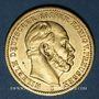 Monnaies Prusse. Guillaume I (1861-1888). 20 mark 1873 C. (PTL 900‰. 7,96 g)