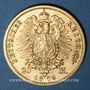 Monnaies Prusse. Guillaume I (1861-1888). 20 mark 1873C. (PTL 900/1000. 7,96 g)