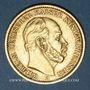 Monnaies Prusse. Guillaume I (1861-1888). 20 mark 1876 A. (PTL 900‰. 7,96 g)