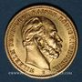 Monnaies Prusse. Guillaume I (1861-1888). 20 mark 1877B. (PTL 900/1000. 7,96 g)