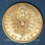 Monnaies Prusse. Guillaume I (1861-1888). 20 mark 1878 A. (PTL 900‰. 7,96 g)