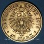 Monnaies Prusse. Guillaume I (1861-1888). 20 mark 1879A. (PTL 900/1000. 7,96 g)